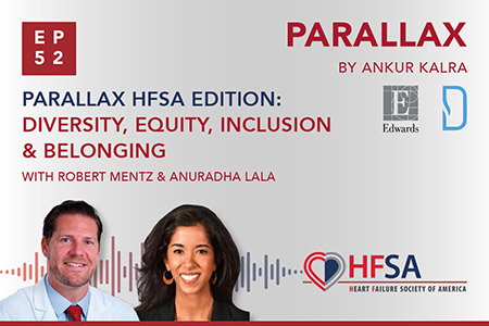 Episode 52: Parallax HFSA Edition: Diversity, Equity, Inclusion